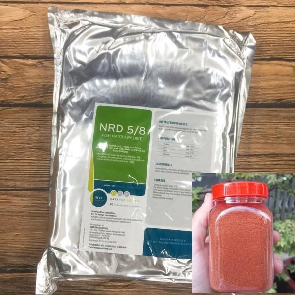 cám inve 5/8 túi 3kg nguyên sale- cám cá chuyên dụng cho betta bảy màu
