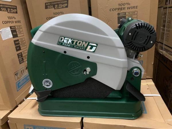 Máy cắt sắt  dây curoa DEKTON 358 Công suất 2800W lưỡi cắt 355mm cập nhật phiên bản mới giá tốt tiết kiệm sử dụng hiệu quả chất lượng tốt an toàn khi sử dụng