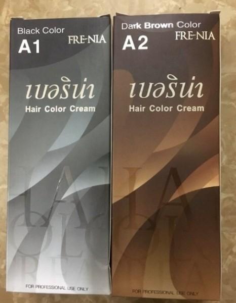 Thuốc Nhuộm Tóc FRENIA Thái Lan  A2 màu nâu đen