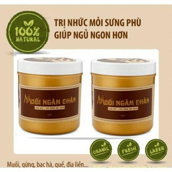 COMBO 2 HỘP Muối ngâm chân thảo dược Wonmom 350g/hũ (Việt Nam)