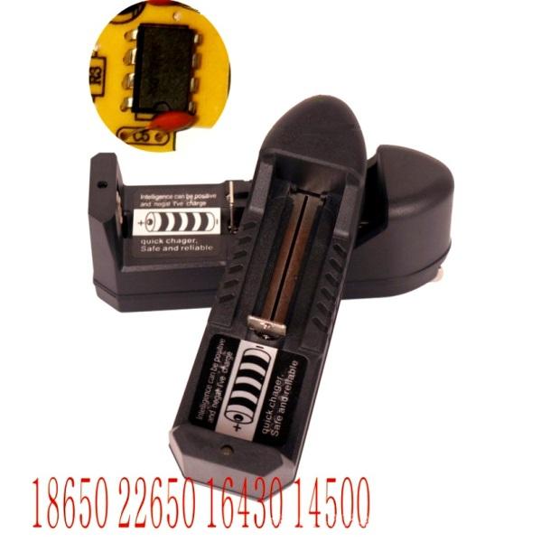 Giá Bộ Sạc 1 cục Pin đa năng dùng cho các loại pin sạc li-ion 18650 14500 16340, 3,7-4,2V sạc pin lithium cho đèn pin siêu sáng ,quạt sạc mini