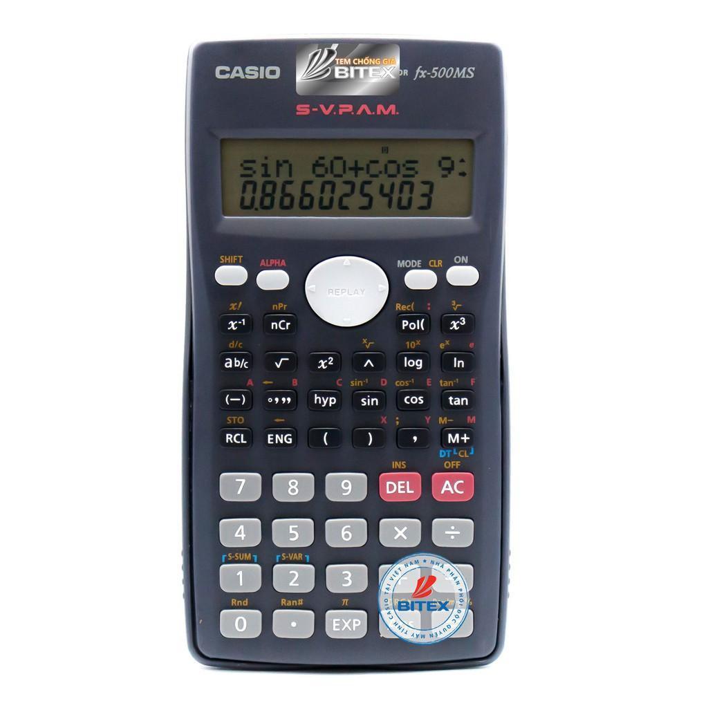 Mua Máy tính học sinh cấp 1-2 CASIO FX-500MS