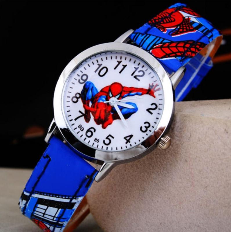 Nơi bán Đồng hồ siêu nhân nhện mặt kính dây PU