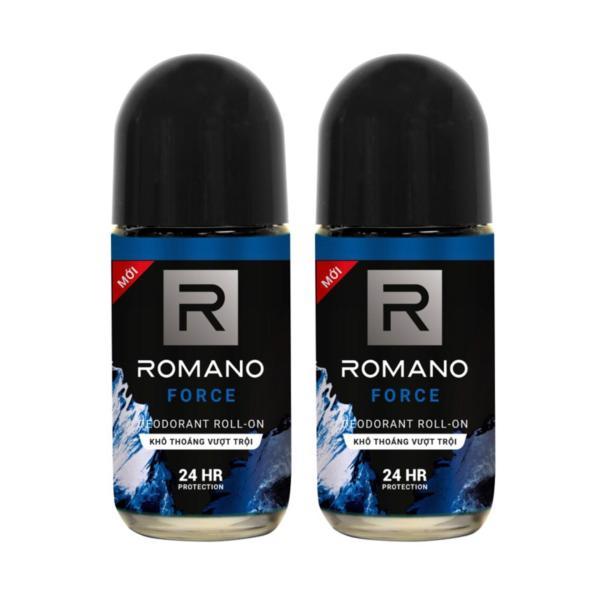 Combo 2 lăn khử mùi Romano Froce 50ml (50ml x2)