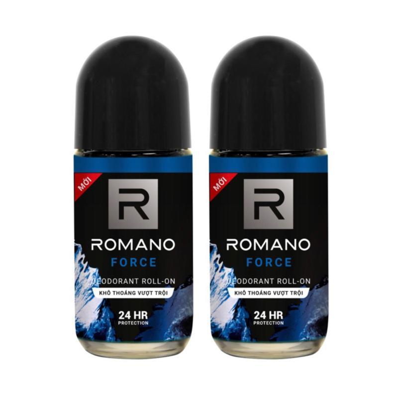 Combo 2 lăn khử mùi Romano Froce 50ml (50ml x2) giá rẻ