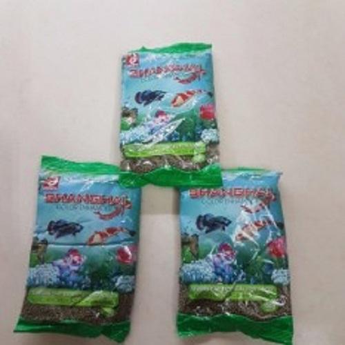 Thức Ăn Cá ShangHai Viên Vừa Gói 500g - Cám Cá Cảnh