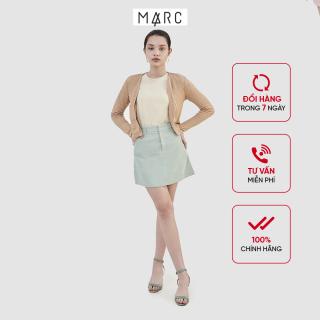 Váy nữ MARC FASHION mini basic nhung tăm thumbnail