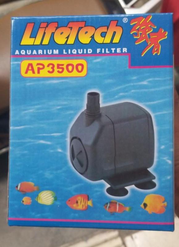 Máy bơm Lifetech AP 3500 công suất 60W dùng cho hồ cá cảnh, hòn non bộ