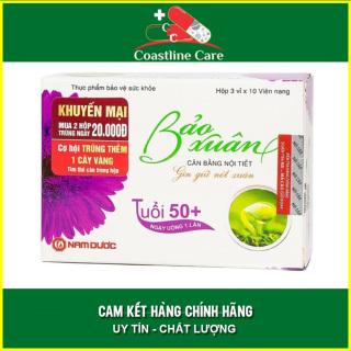 Bảo Xuân 50+ Tím Dành Cho Phụ Nữ Trên 50 Tuổi - Hộp 30 Viên - Coastlinecare Pharmacy thumbnail