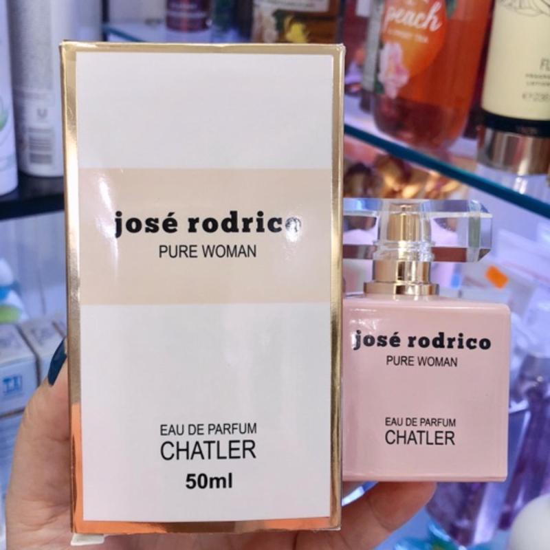 Nước Hoa Nữ EDP Jose Rodrico Pure Woman Của Chatler Hàng Nội Địa Pháp 50ml