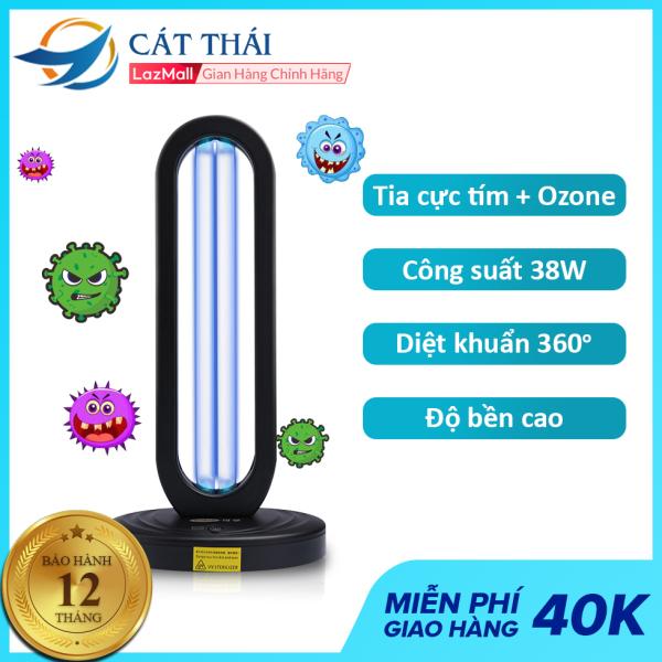 Bảng giá Đèn diệt khuẩn Tia cực tím UV + Ozone công suất 38W Cát Thái ST-XD-01, khử trùng mọi phương hướng 360 độ, làm sạch bầu không khí, an toàn, hiệu quả, tiện lợi, hẹn giờ tự động tắt