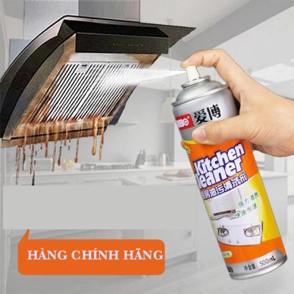 Chai Xịt Tẩy Rửa Bếp Kitchen Cleaner Tẩy Sạch Các Vết Bẩn Vết Dơ Dầu Mỡ