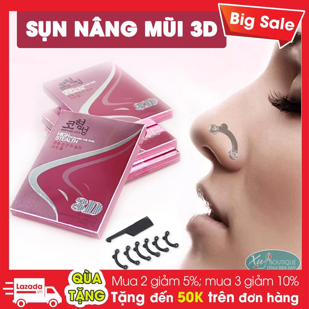 Hộp Sụn Nâng Mũi 3D Silicon Hàn Quốc - MP038