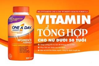 Viên uống Vitamin Tổng Hợp Cho Nữ One A Day Women s Multivitamin Formula Của Mỹ 300 viên Mẫu mới của Mỹ thumbnail