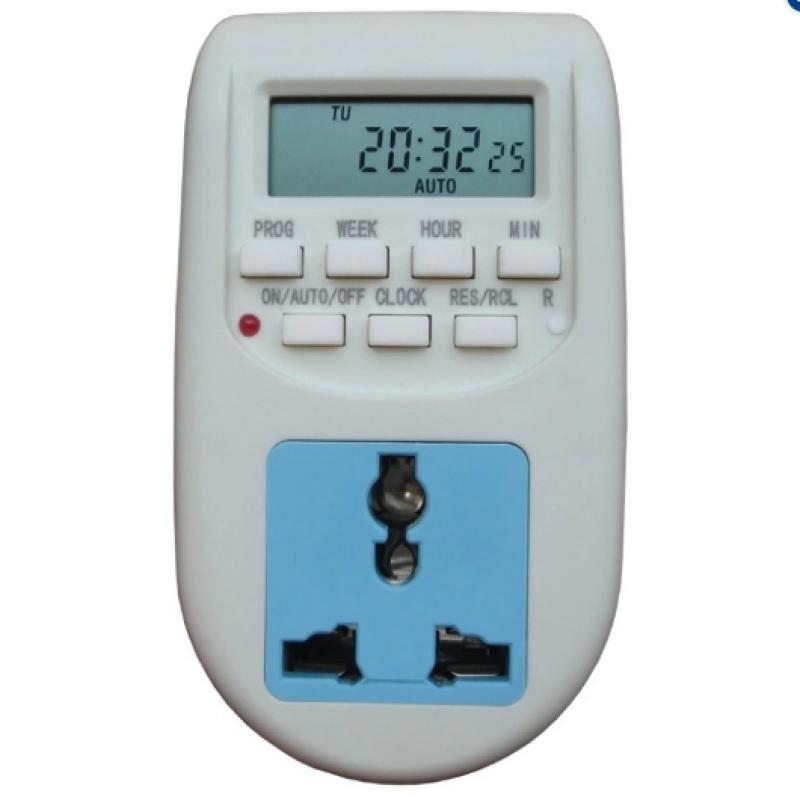 Bảng giá Ổ cắm hẹn giờ điện tử bật tắt tự động AL-06, ổ cắm điện đa năng, công tắc hẹn giờ - AL06-1