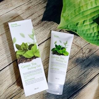 Tẩy Da Chết Trà Xanh Green Tea Amisilk Soft And Pure Hàn Quốc thumbnail