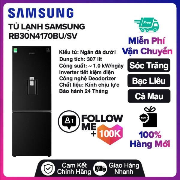Bảng giá Tủ lạnh Samsung Inverter 307 lít RB30N4170BU/SV Mới 2020 Miễn phí vận chuyển nội thành Sóc Trăng, Bạc Liêu, Cà Mau Điện máy Pico