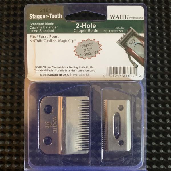 bộ lưỡi kép thép tông đơ WAHL- thay thế cho tông đơ wahl, kemei, magic clip, chaoba- dụng cụ làm tóc ptc