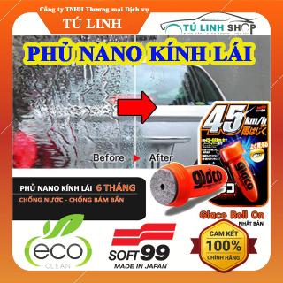 Phủ Nano kính khô nhanh Glaco Roll On - chính hãng Soft99 ( Phủ Nano từ 1 đến 3 tháng ) thumbnail