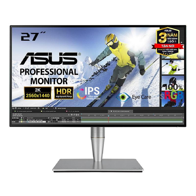 Màn hình Đồ Họa Cong ASUS ProArt PA27AC 27 2K IPS HDR10 100% sRGB - PA Series Monitor