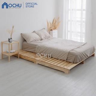 Giường Ngủ Pallet Gỗ Thông Ochu - Pallet Bed - Natural thumbnail