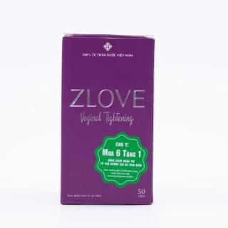Zlove - Giúp se khít và làm hồng vùng kín, tăng cường sức khỏe phụ nữ [COMBO 2 HỘP ] thumbnail