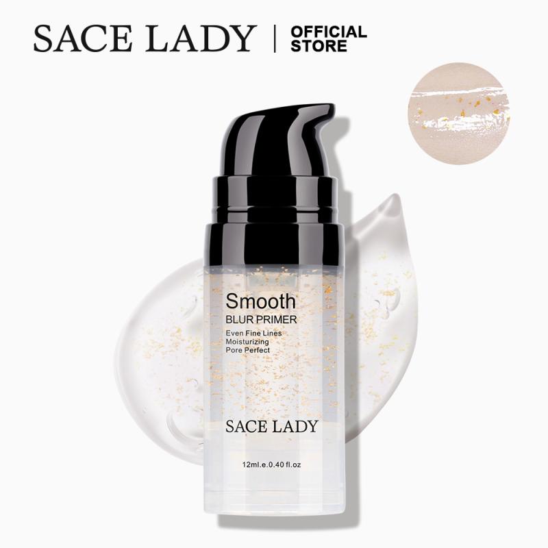 Kem lót SACE LADY chứa lá vàng dưỡng ẩm chống nắng chuyên dụng cho trang điểm - INTL