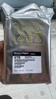 Ổ cứng Western Digital WD 6TB Black WD6003FZBX SATA 3 7200 vòng 256Mb Cache thumbnail