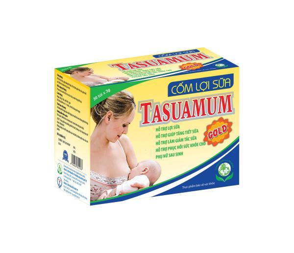 Combo 02 Hộp Cốm Lợi Sữa Tasuamum Gold