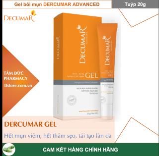 DECUMAR GEL [Tuýp 20g] - Decumar Advanced Gel Gel Ngừa Mụn Nano Curcumin sạch mụn, kháng khuẩn, hết thâm thumbnail
