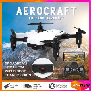 Flycam,Flycam 4k pro, máy bay flycam giá rẻ điều khiển từ xa có camera D2-Máy bay drone 4 cánh quay video trực tiếp chụp ảnh ( Màu đen) thumbnail