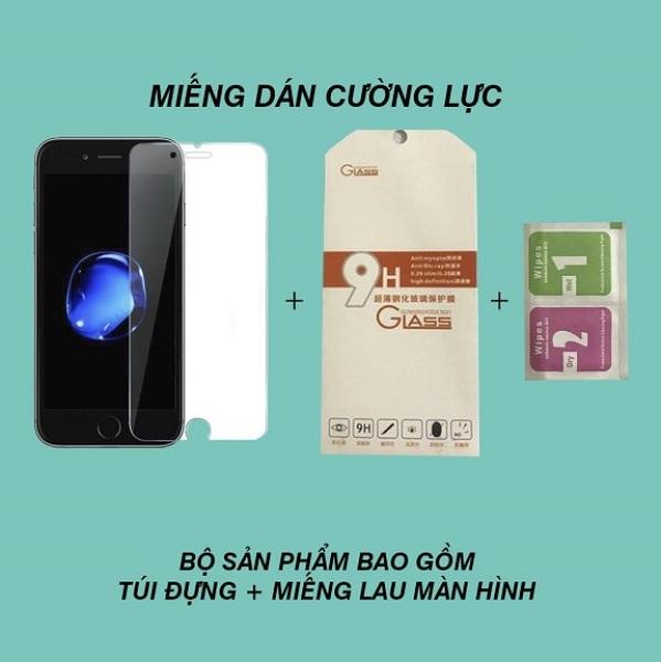 Kính CƯỜNG LỰC IPHONE không full màn hình cho Iphone 6/6s/6plus/7/8/7plus/8plus/xs/xsmax/11/11promax - H Case