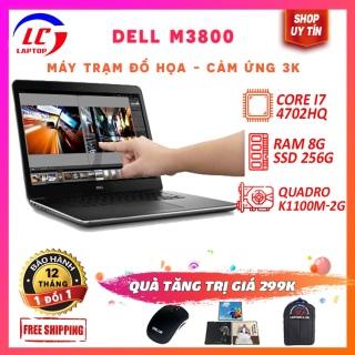 Laptop Đồ Họa Cảm Ứng, Máy Trạm Đồ Họa Siêu Mỏng Dell Precision M3800, i7-4712HQ, RAM 8G, SSD 256G, VGA Nvidia Quadro K1100-2G, Màn 15.6 3k 3200x1880, Laptop Gaming thumbnail