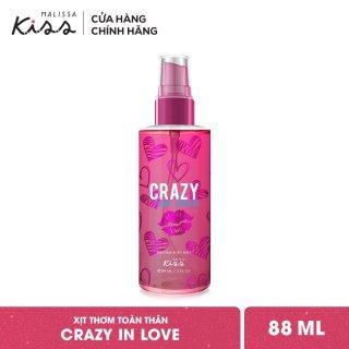 Xịt Thơm Toàn Thân Hương Nước Hoa Malissa Kiss - Hương Crazy In Love 88ml thumbnail