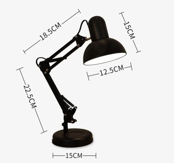 Đèn bàn học cao cấp bảo vệ mắt IKEA DBH-811-D màu đen