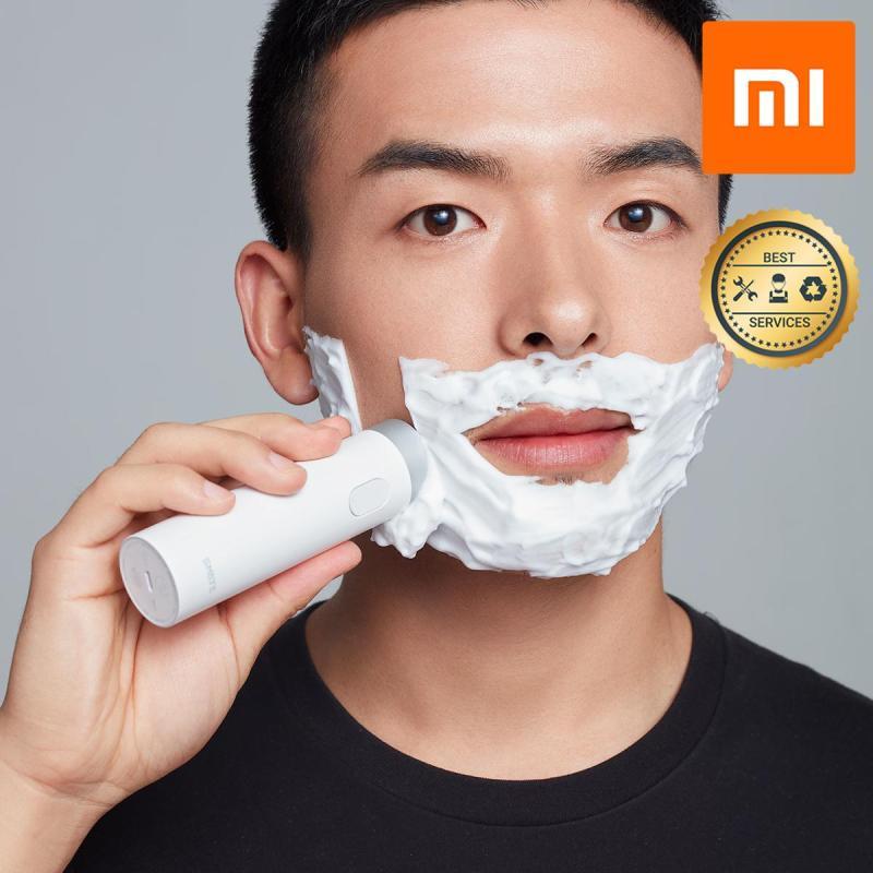 Máy Cạo Râu Smate Dao Ba Lá Tự Động Thông Minh Xiaomi Shavers Trắng