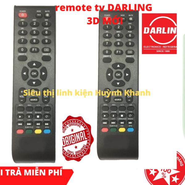 Bảng giá REMOTE TV DARLING 3D MỚI SIÊU BỀN ĐẸP CHÍNH HÃNG