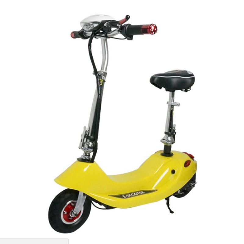 Phân phối Xe Điện Mini E-Scooter  24V-12A tặng kèm ghế cho trẻ em và giỏ xe
