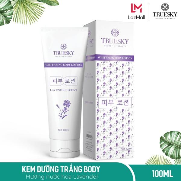 Kem dưỡng trắng da toàn thân hương nước hoa Pháp 100ml - Whitening Body Lotion cao cấp