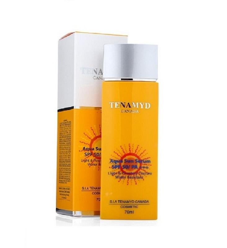 [Date: 22/10/2025] Huyết Thanh Chống Nắng Tenamyd SPF 50/PA+++ Aqua Sun Serum SPF 50/PA nhập khẩu
