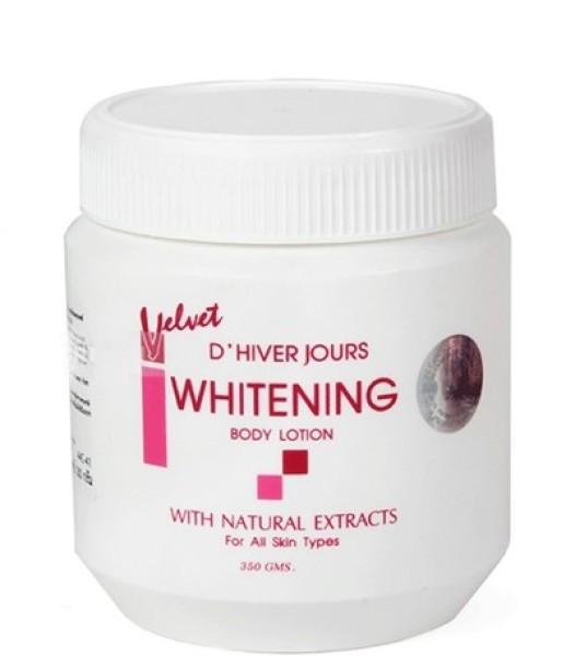 Kem dưỡng trắng da Velvet Whitening Thái hũ 350g giá rẻ