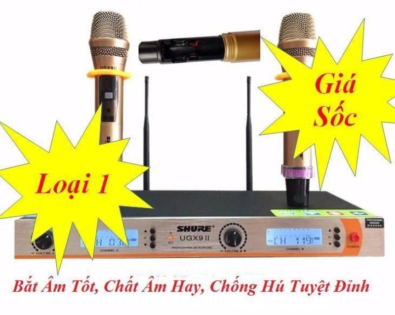 Mua Ngay Micro Hát Karaoke Không Dây Cao Cấp Shure UGX9 II Chuyên Nghiệp Dành Cho Kinh Doanh Và Gia Đình
