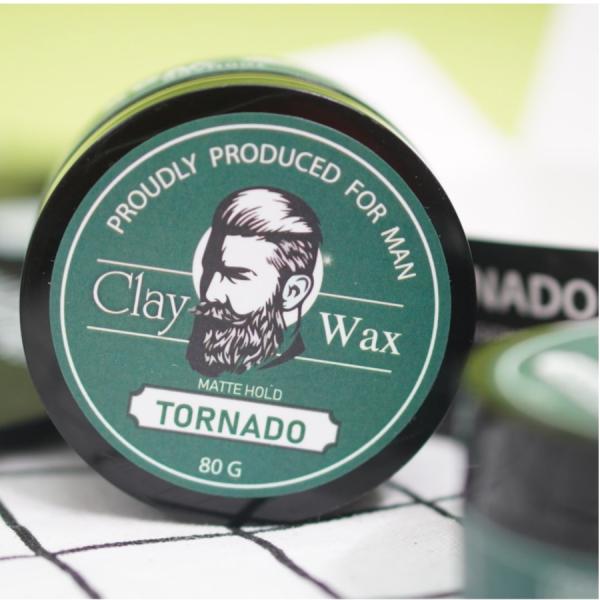 FullBox] Sáp vuốt tóc nam Tornado Siêu Thơm Giữ nếp 18h-20h xuất xứ Đức / sap vuot toc/ keo giá rẻ