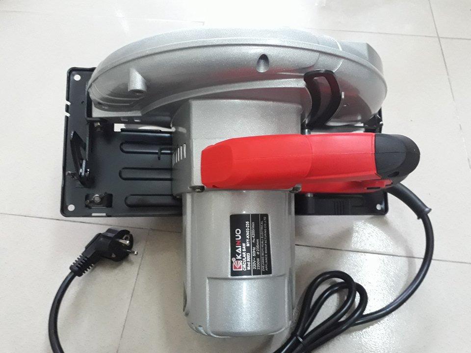 Máy cưa đĩa 235mm Kainuo 9003 công suất 2000W, động cơ dây đồng, bảo hành 12 tháng, máy cưa đĩa, máy cưa gỗ cầm tay, máy cắt gỗ, máy cưa đĩa cầm tay, máy cưa đĩa 235mm, may cua dia, may cua go 235mm