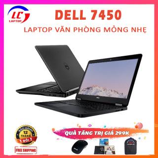 Laptop Dell Latitude 7450 Làm Văn Phòng Mỏng Đẹp, i7-5600U, VGA Intel HD Graphics 5500, Màn 14 inch HD, Laptop Dell, Laptop i7 thumbnail