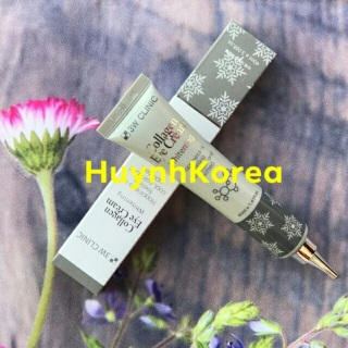 Kem dưỡng mắt chống nhăn thâm Colagen 3W Clinic Hàn Quốc thumbnail