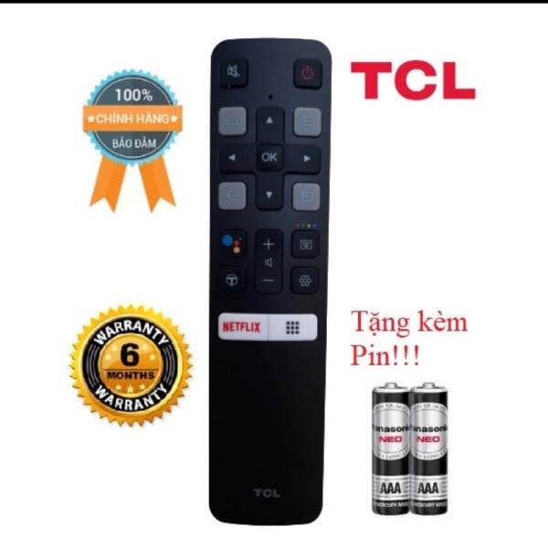 Bảng giá Điều khiển tivi TCL GIỌNG NÓI chinh hãng đen