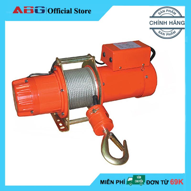 Tời Điện Treo ABG Kio-Winch GG-500 500kg - Máy Tời Điện Mini Nâng Hạ Cơ Động, Tiện Dụng Mang Vác và Di Chuyển (Giao Màu Ngẫu Nhiên)