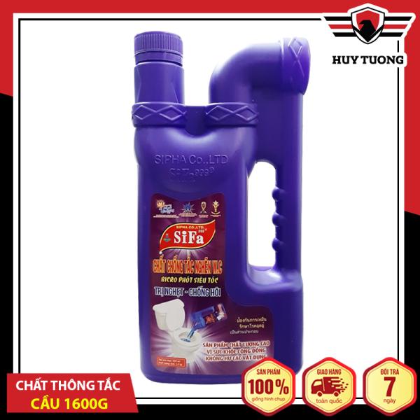 Chất thông tắc bồn cầu toilet chống hôi Siêu tốc 5 phút 1600g Sifa ( Hàng xuất khẩu Thái Lan ) - Huy Tưởng