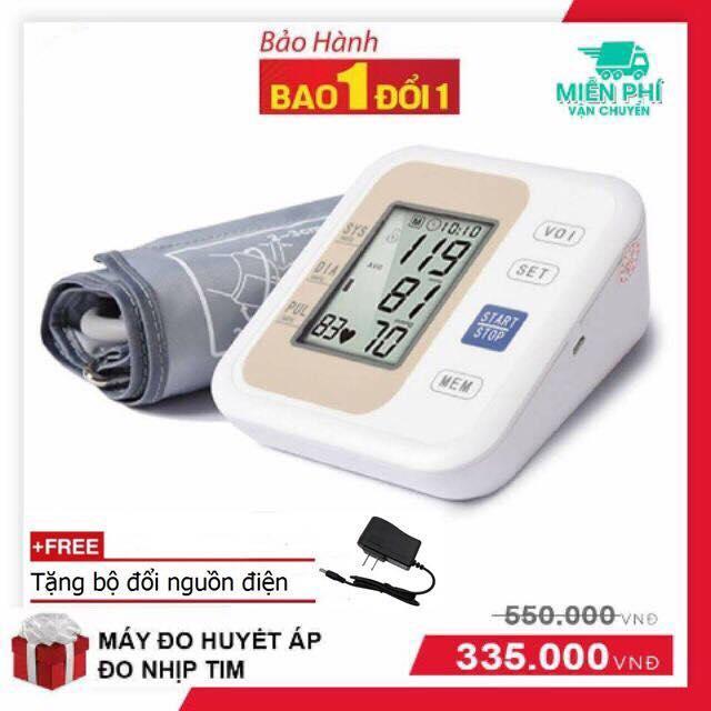 Máy đo huyết áp bắp tay công nghệ hiện đại màn hình 3D rõ nét nhập khẩu
